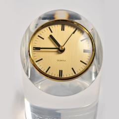1970s American lucite clock - 1240566