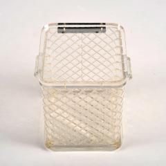 1970s American lucite ice bucket - 1240562