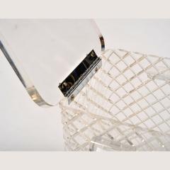1970s American lucite ice bucket - 1240578