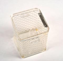 1970s American lucite ice bucket - 1240580