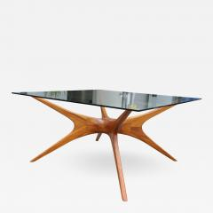 1970s Argentinian Dining Table with Spider Leg in Petiribi Wood - 462518