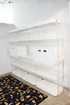 1970s Bookcases or Storage Unit after Pace Collection or Milo Baughman - 1264046
