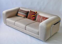 1970s Chrome Frame Sofa - 365021