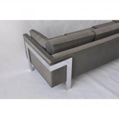1970s Chrome Frame Sofa - 1743040
