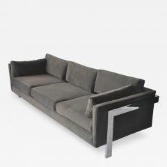 1970s Chrome Frame Sofa - 1743472