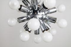 1970s Chrome Sputnik Chandelier - 237309