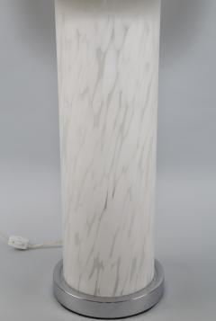 1970s Italian Murano Mottled Glass Table Lamp - 696091