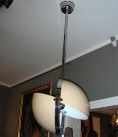 1970s Italian spherical suspension in lacquered t le and chromed metal - 905912