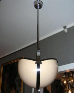 1970s Italian spherical suspension in lacquered t le and chromed metal - 905913
