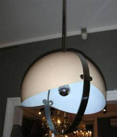 1970s Italian spherical suspension in lacquered t le and chromed metal - 905915
