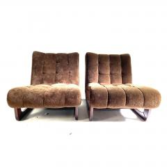 1970s Low Lounge Chairs a Pair - 1703921