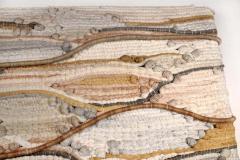 1970s Midcentury California Modernist Fiber Art Wall Textile - 1507040