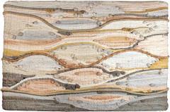 1970s Midcentury California Modernist Fiber Art Wall Textile - 1509123