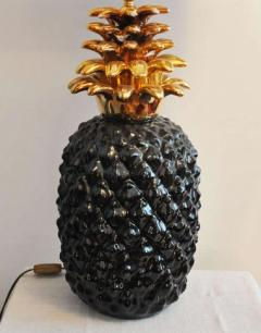 1970s Pineapple lamp base in ceramic - 913454