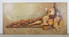 1970s Rafaella Krist Neo Renaissance Painting - 237328