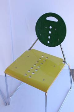 1980s Memphis Style Italian Charlie Chairs by Bimbi Gioacchini Design - 687024