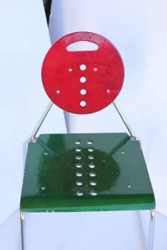 1980s Memphis Style Italian Charlie Chairs by Bimbi Gioacchini Design - 687026