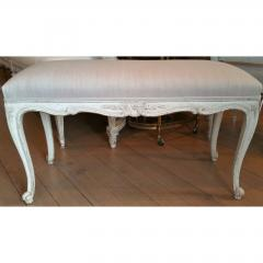 19TH C LOUIS XV PAINTED BENCH - 820281