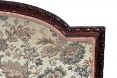 19TH CENTURY FRENCH LOUIS XVI SETTEE UPHOLSTERED WALNUT - 1245754