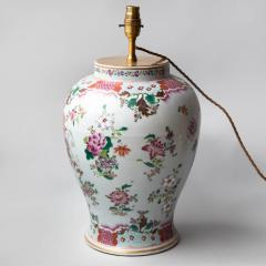 19TH CENTURY SAMSON VASE CONVERTED TO A TABLE LAMP - 1834862