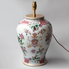 19TH CENTURY SAMSON VASE CONVERTED TO A TABLE LAMP - 1834863