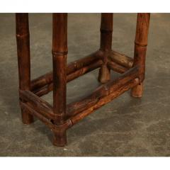 19th C Chinese Bamboo Console Table - 1949646