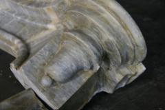19th C Italian Marble Fireplace - 498419