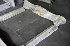 19th C Italian Marble Fireplace - 498421