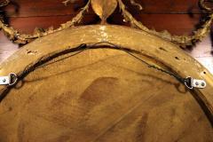 19th Century Adam Style Giltwood Convex Mirror - 612204