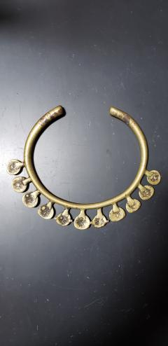 19th Century African Bronze Necklace Ex Dan Flavin Collection - 2101695