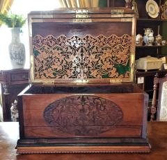 19th Century Anglo Indian Stationery Campaign Chest Outstanding - 1660778
