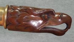 19th Century Bald Eagle American Yacht Tiller Arm - 114171