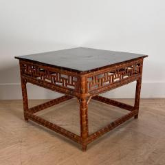 19th Century Bamboo Table China - 1570794