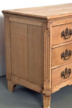 19th Century Belgian Hand Carved Oak Commode - 83613