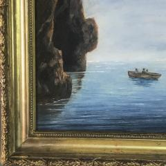 19th Century Blue Girotto Capri Italy Unsigned - 1834129