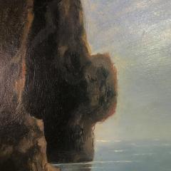 19th Century Blue Girotto Capri Italy Unsigned - 1834134