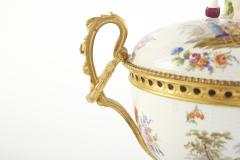 19th Century Bronze Mounted Porcelain Centerpiece - 2108251