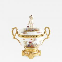 19th Century Bronze Mounted Porcelain Centerpiece - 2109925
