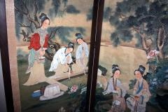 19th Century Chinese Four Panel Screen - 752579