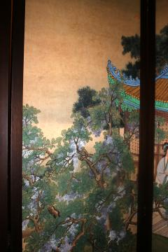 19th Century Chinese Four Panel Screen - 752582