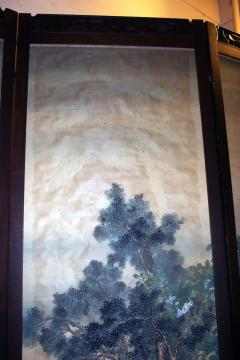 19th Century Chinese Four Panel Screen - 752592