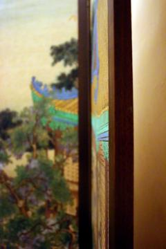 19th Century Chinese Four Panel Screen - 752594
