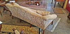 19th Century Chippendale Style Camel Back Sofa - 1704791