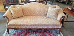 19th Century Chippendale Style Camel Back Sofa - 1704793