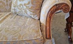 19th Century Chippendale Style Camel Back Sofa - 1704797
