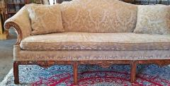19th Century Chippendale Style Camel Back Sofa - 1704799