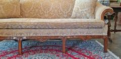 19th Century Chippendale Style Camel Back Sofa - 1704803