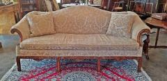 19th Century Chippendale Style Camel Back Sofa - 1704804