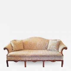 19th Century Chippendale Style Camel Back Sofa - 1705659