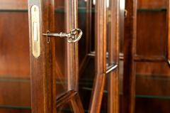 19th Century Chippendale Style Mahogany Hutch China Cabinet - 1169289